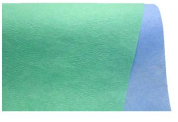 Steriliseringspapir grønn/blå  301106
