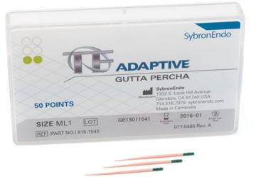 TF Adaptive guttapercha point  815-1543