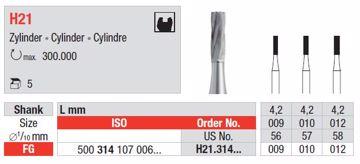 Metallbor H21 FG 009