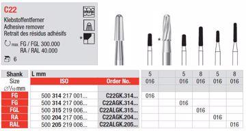 Metallbor C22 AGK RA 016