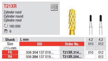 Amalgam fjerner bor T21XR FG 010