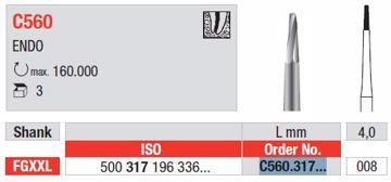 Endo bor C560 FGXXL 008