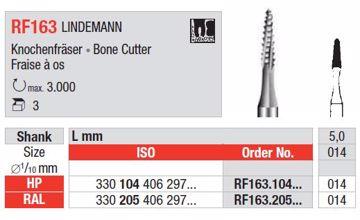 Kirurgisk bor RF163 HP 014