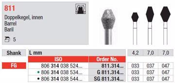 Diamant bor 811 FG 033
