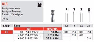Diamant bor 813 FG 016