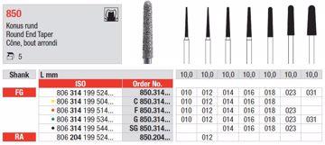Diamant bor 850 FG 016