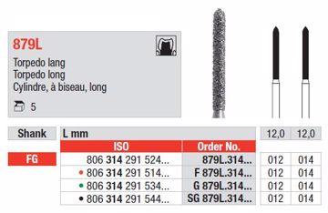 Diamant bor G879L FG 012