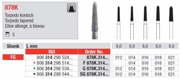 Diamant bor SG878K FG 012