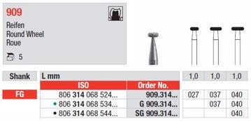Diamant bor SG909 FG 040