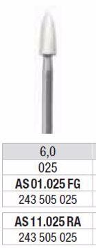 Polering kompositt/porselæn AS 01 025 FG