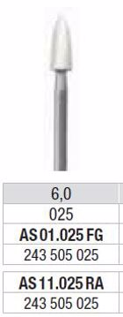 Polering kompositt/porselæn AS 11 025 RA