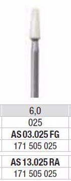 Polering kompositt/porselæn AS 13 025 RA