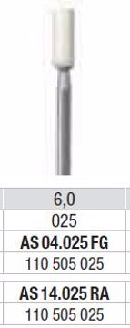 Polering kompositt/porselæn AS 14 025 RA