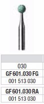 Polering GF601 030 RA lille rund