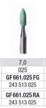 Polering GF661 025 FG lille flamme