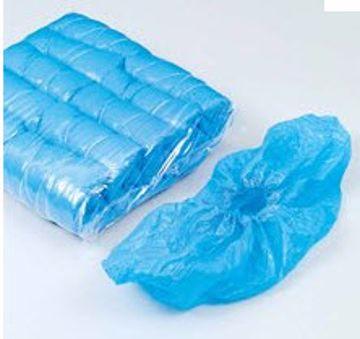 Skoovertrekk plast blå 4401
