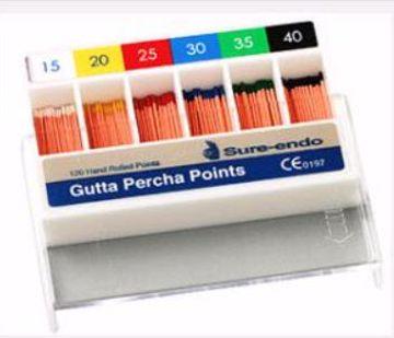 Gutta Percha points Sure Dent 20***