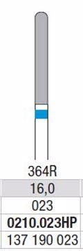 Hardmetall Freser Fig.364R. 0210.023HP