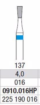 Hardmetall Freser Fig.137. 0910.016HP