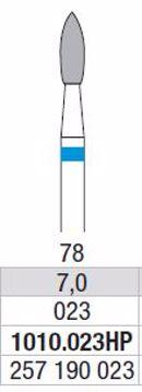 Hardmetall Freser Fig.78. 1010.023HP