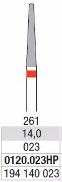 Hardmetall Freser Fig.261. 0120.023HP