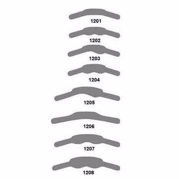 Hawe matriser rustfri stål super/tynn 1206