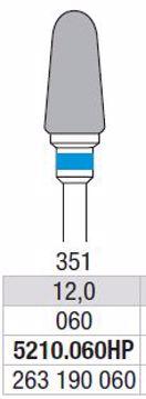 Hardmetall Freser Fig.351. 5210.060HP