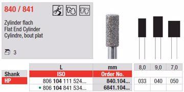Diamant bor Sylinder 840 HP 033