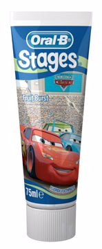 Barne tannpasta Kids Frozen og Car Mix