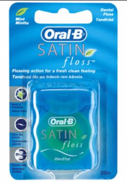 Oral-B Tanntråd Satinfloss mint 017954