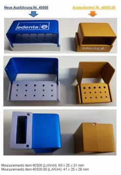 Borholder aluminium 40500