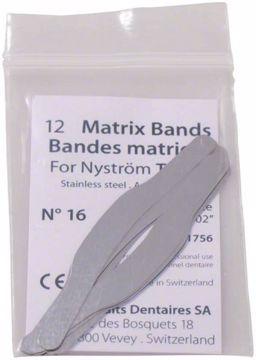 Matriser stål Nystrøm Nr.16  41756 PD