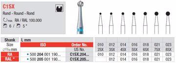 Metallbor C1SX RA 016