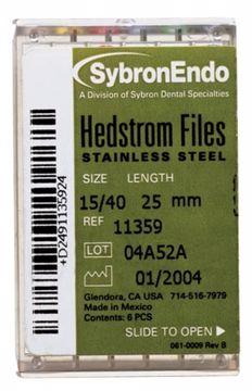 Hedstrøm filer Sybron str.55  12838