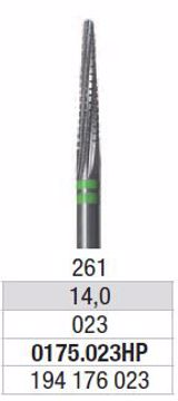 Hardmetall Freser 0175 023HP