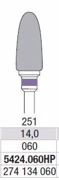 Hardmetall Freser Fig.5424 060HP