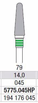 Hardmetall Freser Fig.79. 5775.045HP