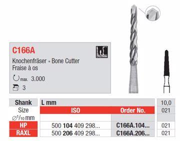 Kirurgisk bor C166A RAXL 021