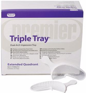 Premier Triple Trays Forlenget kvandrant 230