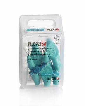 Tandex Flexi refill mellomrumsbørste ISO 0,6
