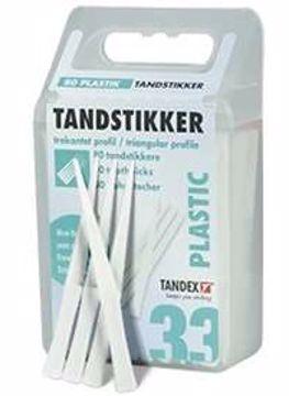 Tandex tannstikker plast