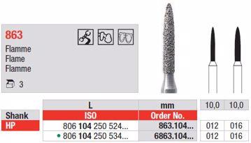 Diamant bor 863 HP 016