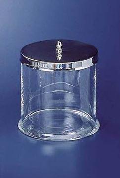 Glassbeholder til avspritningsklute