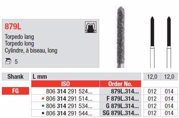 Diamant bor SG879L FG 012