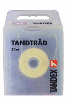 Tandex Tanntråd rund 25 m (12stk=1eske) 813381