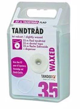 Tandex Tanntråd flat 25 m (12stk=1eske) 813382