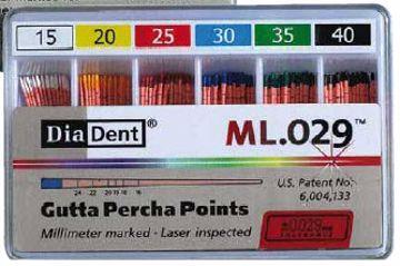 DiaDent Gutta percha taper 02. ***