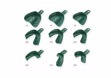 Spacer trays plast grønne 7D  250071