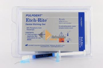 Etch-Rite gel 38% blue ***