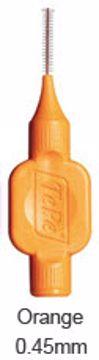 TePe mellomrumsbørste-klinikk orange str 1